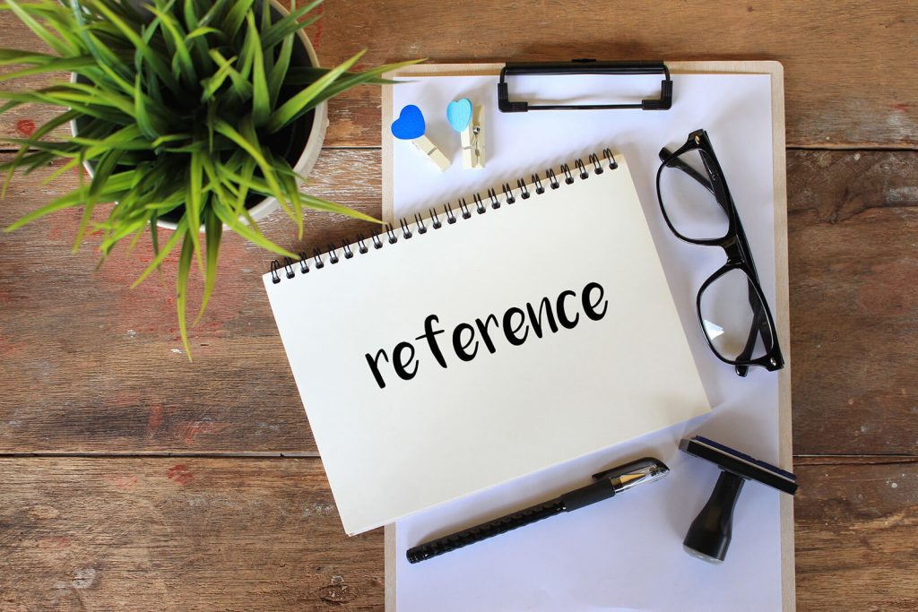 Using the Right References & Preparing Them for Questioning